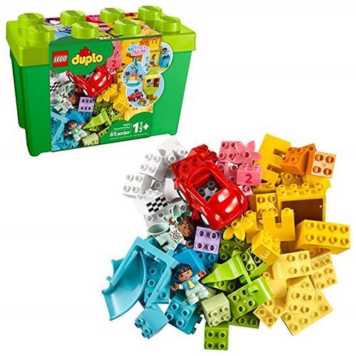 LEGO 樂高 DUPLO 經典豪華磚盒 10914 入門套 附收納盒(85 件)