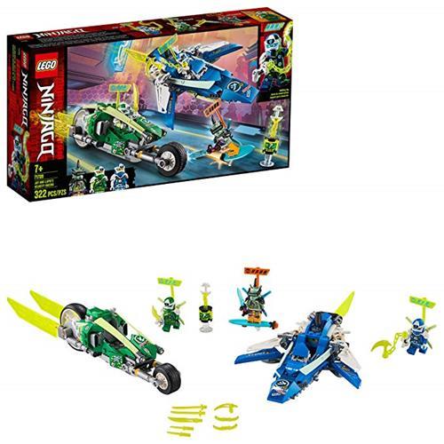 LEGO 樂高 NINJAGO Jay and Lloyd's Velocity Racers 71709 (322 件)