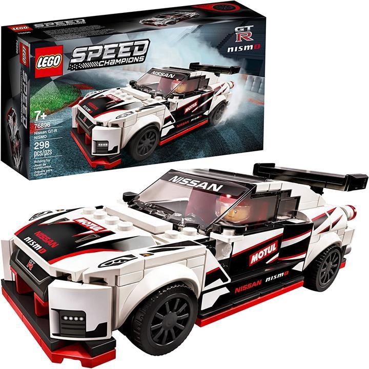 LEGO 樂高 Speed Champions Nissan GT-R NISMO 76896玩具模型汽車模型(298件)