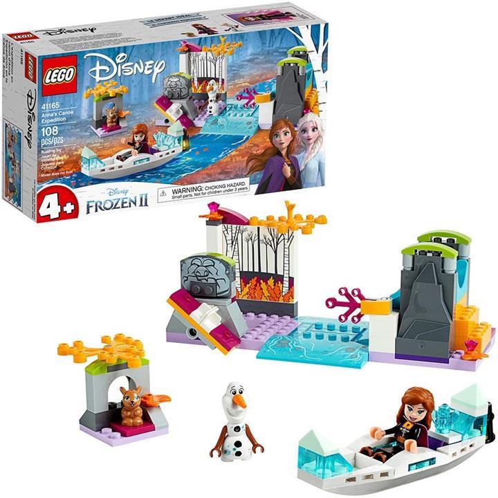 "好物聯網 LEGO 樂高 迪士尼""冰雪奇緣II""安娜的獨木舟探險隊41165冰雪奇緣Easy Easy (108件)"