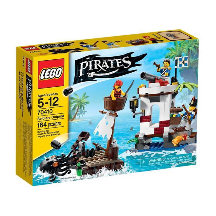 LEGO 70410 海盜系列 士兵前哨站樂高盒組