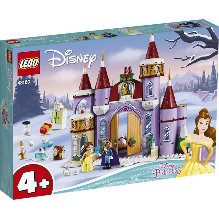 LEGO 樂高  43180 Belle's Castle Winter Celebration