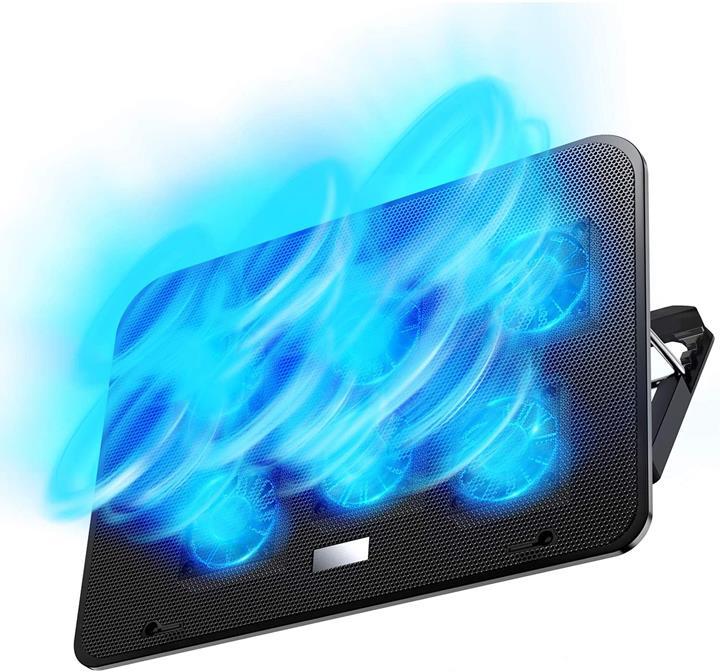 【日本代購】筆電 散熱墊 冷卻墊 可調節風量 高度調節 7-17英寸 筆記本電腦 Macbook
