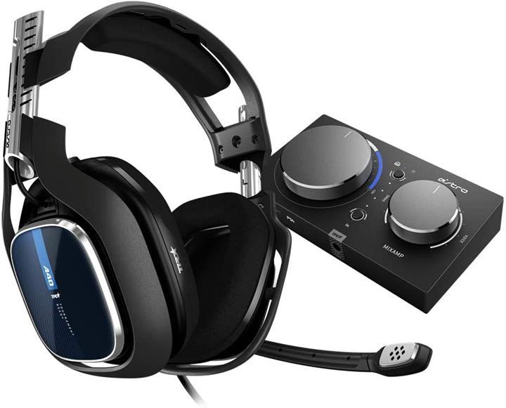 【日本代購】ASTRO 遊戲 PS4 頭戴式頭戴 A40TR_MixAmp Pro TR 混音器 5.1ch 3.5mm