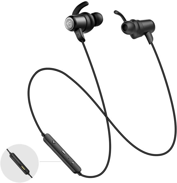 【美國代購】SOUNDPEATS Q35 HD IPX8防水藍牙耳機 麥克風 用於鍛煉 跑步 健身 14H 播放