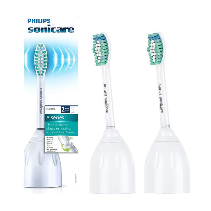 【美國代購】飛利浦Sonicare HX7022 / 66正品E系列替換牙刷頭 兩包