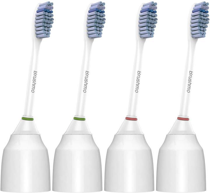 【美國代購】Brushmo敏感替換牙刷頭與Sonicare HX7052相容 每盒4個