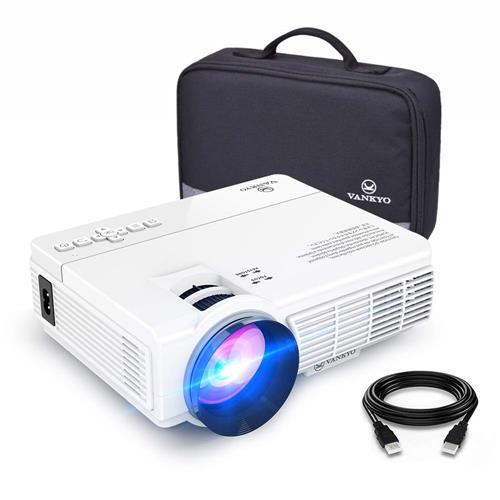 好物聯網 【美國代購】VANKYO LEISURE 3迷你投影儀 支援1080P和170英寸顯示器 2400 Lux便攜式電影投影機