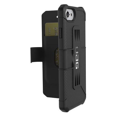 【美國 】UAG Folio iPhone 8 7 6s Metropolis Feather-Light 軍用摔落測試iPhone手機殼 黑色