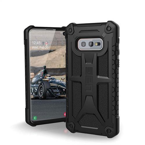 【美國代購】UAG專為三星Galaxy S10e 設計 Monarch 軍用摔落測試手機殼 黑色