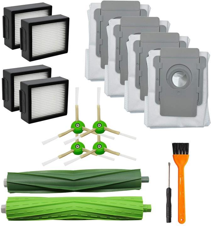 【美國代購】Lemige iRobot Roomba i7 i7 + / i7 Plus E5 E6吸塵器套件的13件更換件