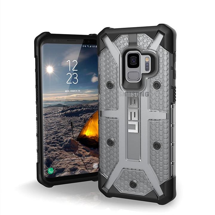【美國代購】UAG 5.8寸 輕薄堅固 軍用防摔手機殼 專為三星Galaxy S9 設計 冰