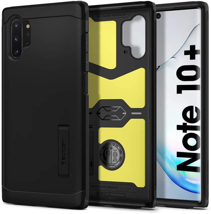 【美國代購】Spigen Tough Armor專為Samsung Galaxy Note 10 Plus / 5G手機殼 黑色