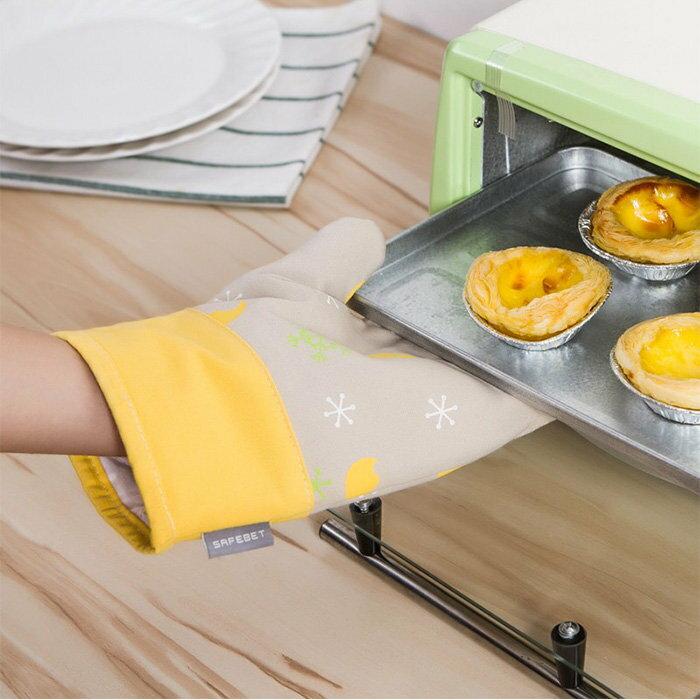 耐高溫微波爐防燙手套 星空款 烤箱隔熱手套 造型隔熱套【SV7490】快樂生活網