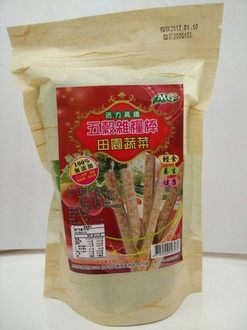 茂格生機 活力高纖 五榖雜糧棒(田園蔬菜) 200g/包 原價$120 特價$109