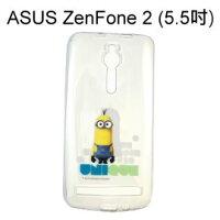 小小兵手機殼及配件推薦到小小兵透明軟殼 [背影] ASUS ZenFone 2 ZE550ML ZE551ML Z00AD Z008D【正版授權】就在利奇通訊推薦小小兵手機殼及配件