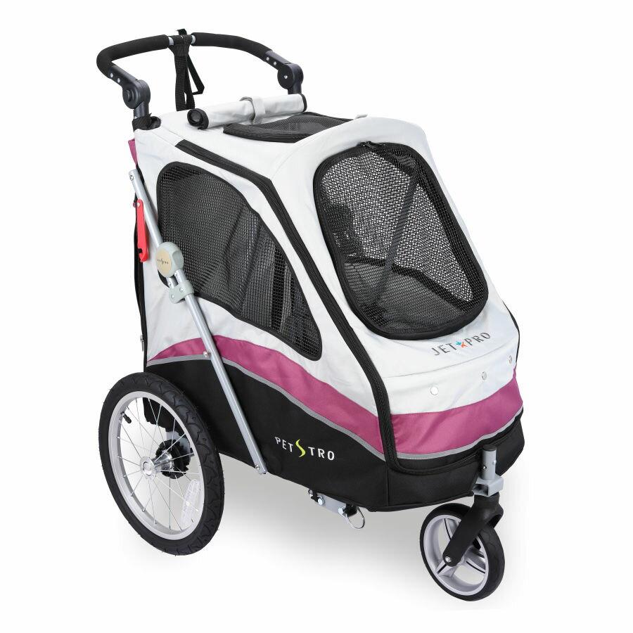 沛德奧 Petstro 寵物推車 - 706GX JETPRO 風馳系列 (紫紅)