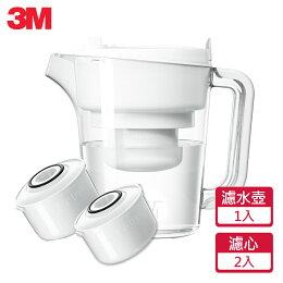 3M 經典款 即淨長效濾水壺WP3000 (1壺+2濾芯)|台灣製造|免運