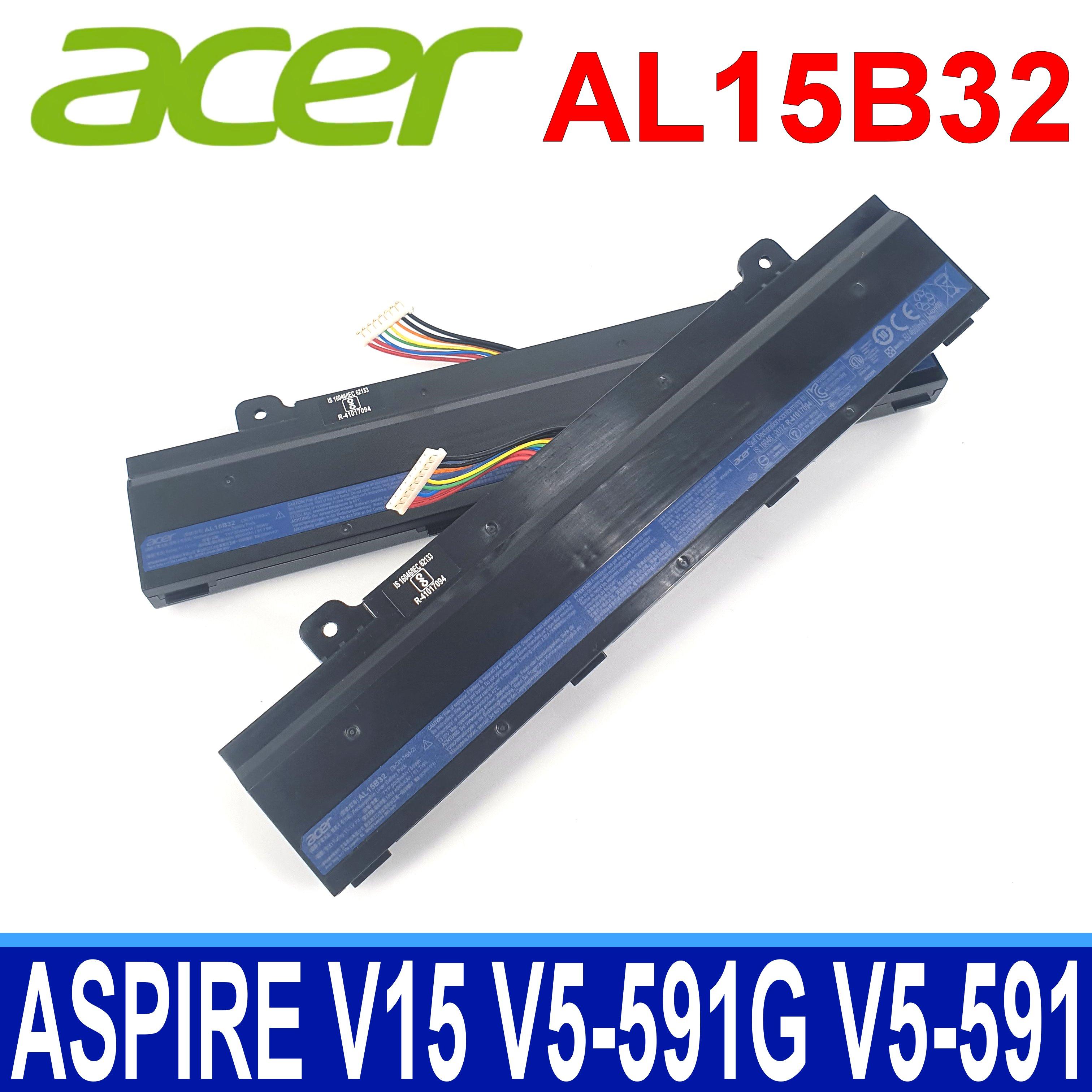 Acer AL15B32 原廠電池 Aspire V15 V5-591G V5-591 V5-591G-58ZRG,E5-772,E5-772G,TMP257 E5 E5-573 E5-573G E5-472G E5-473G E5-474G E5 E5-474 E5-474G