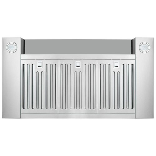 "Golden Vantage 36"" Wall Mount Stainless Steel & Tempered Glass Touch Screen Kitchen Vent Range Hood 3"
