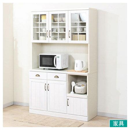 ◎廚櫃 MIRANDA 120KB WH NITORI宜得利家居 1