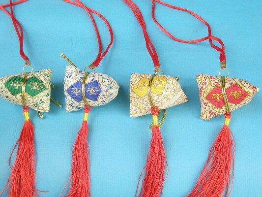 平安香包 粽子香包 項鍊式手工(成品) / 一包10個入 { 促80 }  端午節香包~4762 8