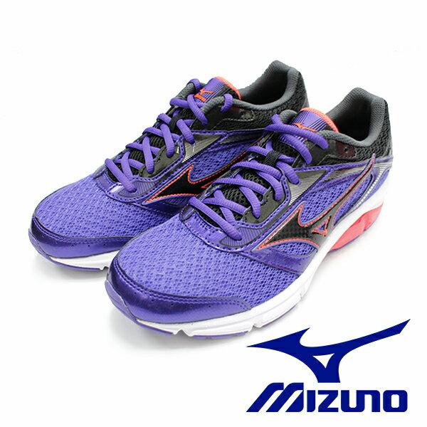 【MIZUNO 促銷5折│ 全店免運】Mizuno 紫羅藍 IMPETUS 4 慢跑鞋J1GD-161310