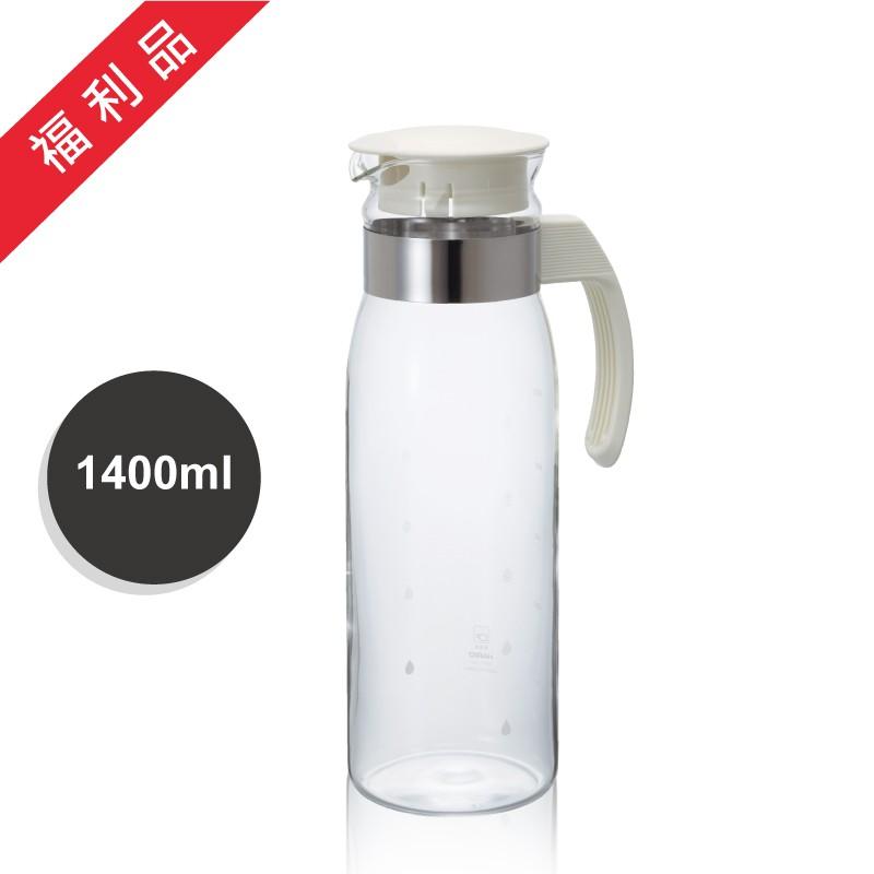 福利品-日本HARIO  耐熱冷水壺-1400ml ( RPLN-14-OW)