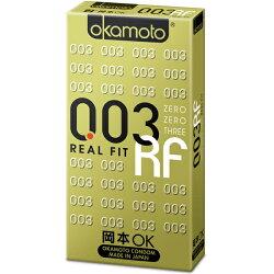 【Okamoto岡本OK】003 3D曲線RF極薄貼身 6片裝 保險套