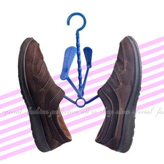 多功能活動掛鞋架 可串聯360旋轉 曬鞋架/晾鞋架/收鞋架一次曬2雙【DV385】◎123便利屋◎