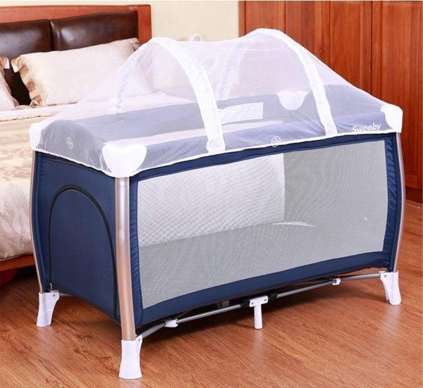 遊戲床 嬰兒床專用蚊帳 拱型蚊帳 高密度蚊帳