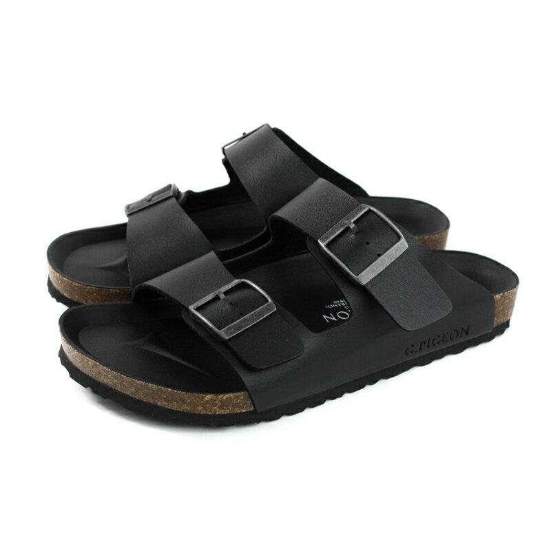 G.P 阿亮代言 拖鞋 勃肯鞋 黑色 男鞋 M371-10 no051 0