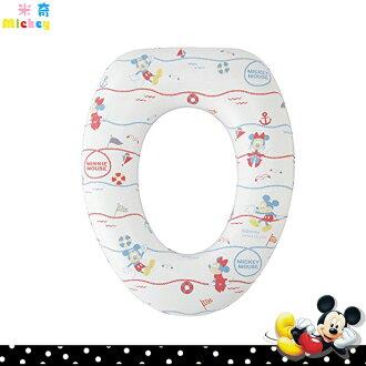 迪士尼 米奇Mickey 兒童幼兒 輔助軟墊式 馬桶便座 輔助便座 馬桶墊座 訓練便座 日本進口正版 577007