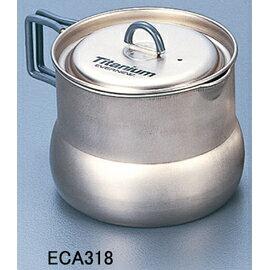 EVERNEW 輕量鈦合金壺鍋/鈦金大炊具壺 0.8L EN-CA318