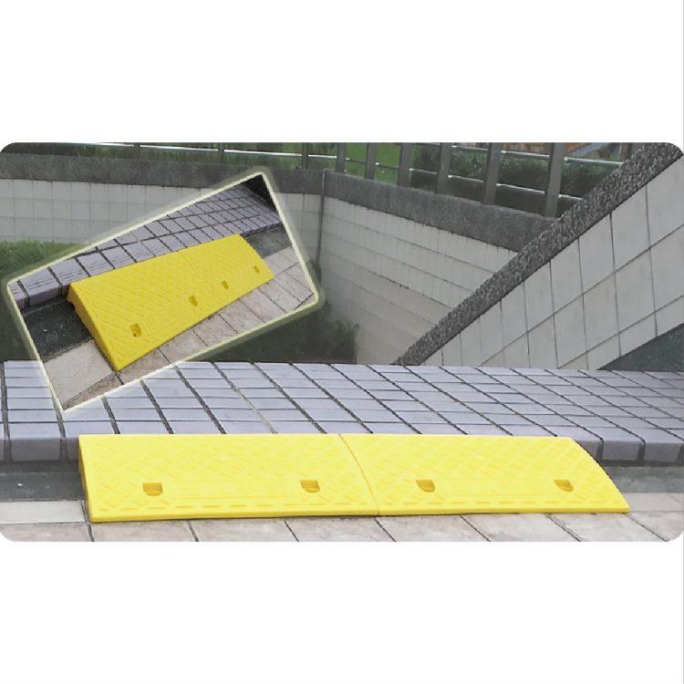 斜坡板 - 輕型 塑膠製 可攜式 三色可選 附固定用螺絲