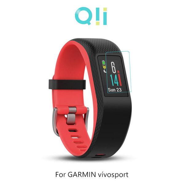 【愛瘋潮】Qii GARMIN vvosport  玻璃貼 手錶保護貼