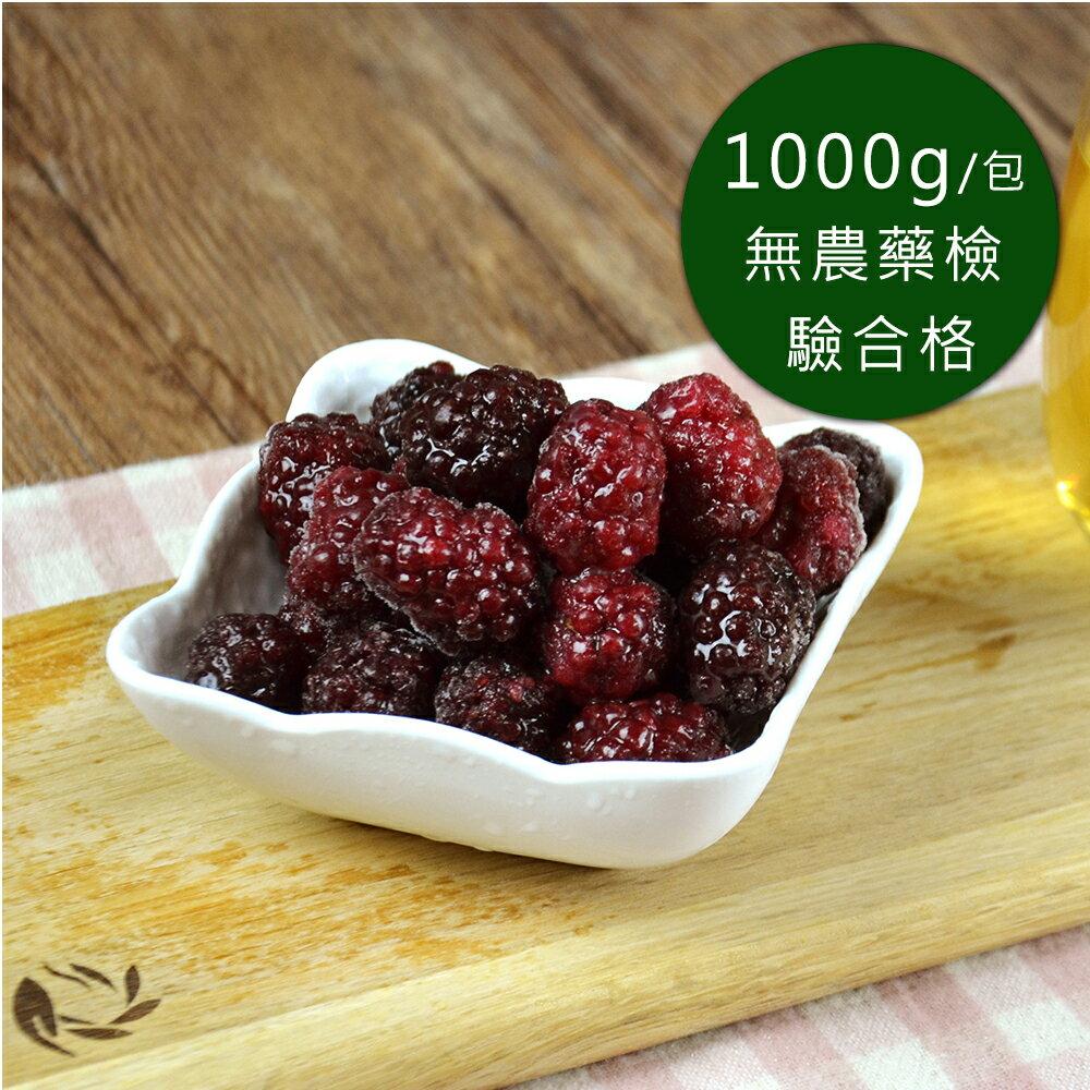 【幸美生技】進口急凍莓果 黑莓 1公斤