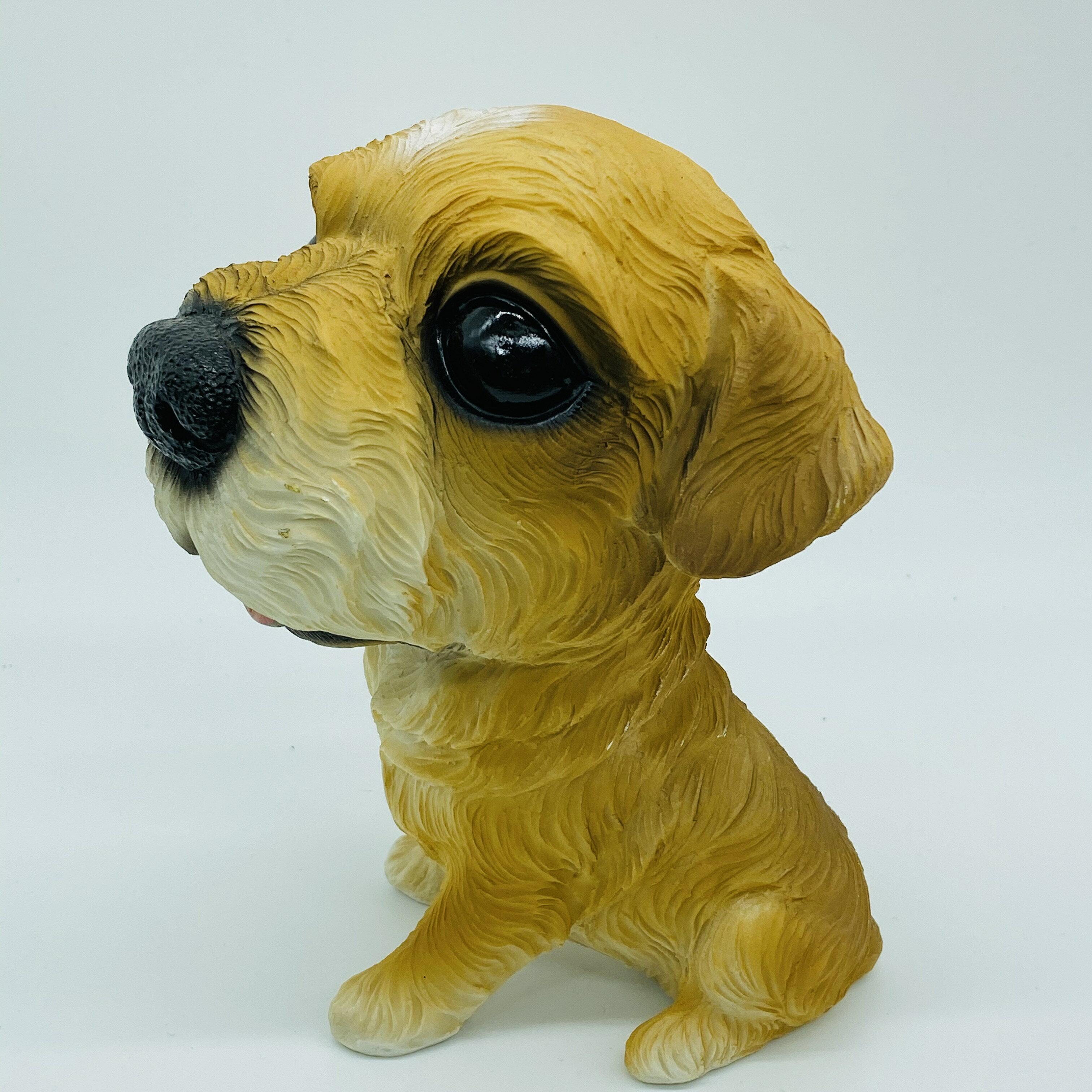 日本高山 可愛動物 大頭狗 毛毛 擺飾品  日本直送 日本設計 2