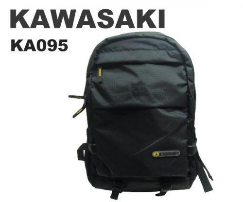 【加賀皮件】 KAWASAKI 多層收納設計四色仼選輕量防潑水休閒後背包【KA095】
