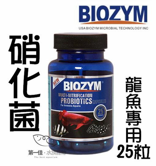 [第一佳水族寵物]美國百因美BIOZYM [龍魚專用-25粒] 第二代多功能硝化菌.硝化酶 膠囊系列