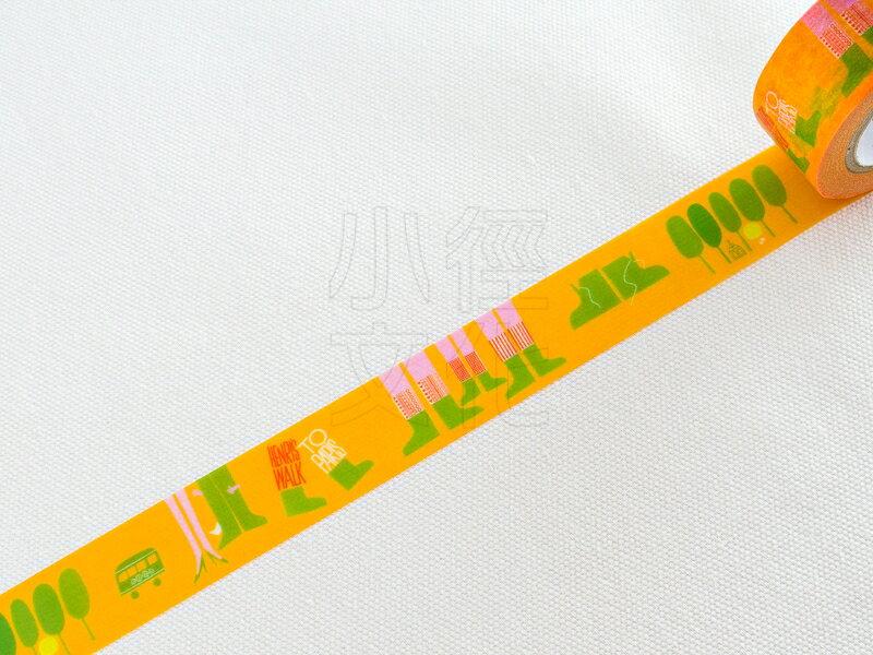 *小徑文化* 日本進口和紙膠帶 mt x artist - 散步 ( MTSAUL03 )