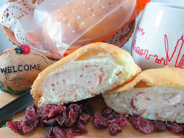 【Bliss Castle】首創灌飽包#爆漿麵包#蔓越莓(四入一盒)#下午茶#夏日野餐趣#多種吃法#