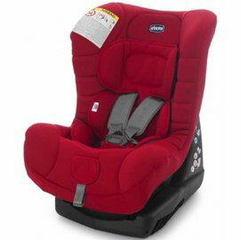 【淘氣寶寶●奶瓶清潔液+香草奶嘴】義大利原裝Chicco ELETTA全歲段汽車安全座椅(紅)