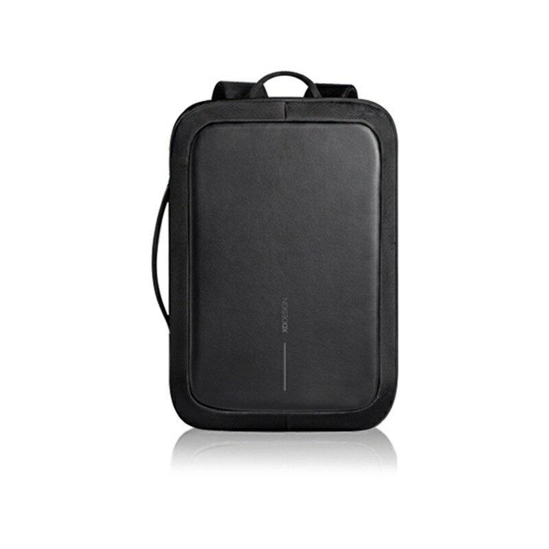 XD DESIGN蒙馬特三代 密碼鎖 電腦包 公事包 防盜背包雙肩包安全公文背包男士斜挎包 筆電包 電腦包 a4 公事包 0