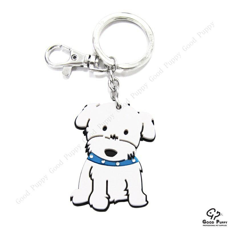 加拿大進口狗狗寵物鑰匙圈-瑪爾濟斯男92660 Maltese (Boy)* 吊飾/鑰匙扣/鑰匙圈/小禮物/贈品