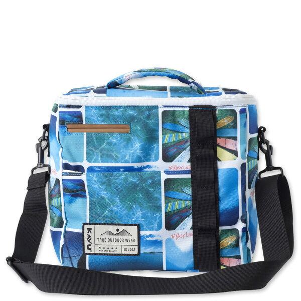 ├登山樂┤美國西雅圖KAVUSnackSack野餐袋保冷袋忙碌為生夏日藍海感#9055(580)