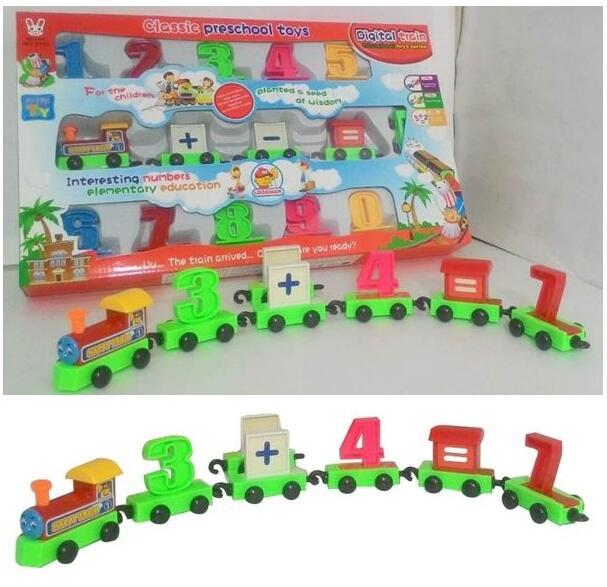 學習數字排列 小火車 火車玩具 益智玩具 數字 0-9列車 小火車 數字列車【塔克】