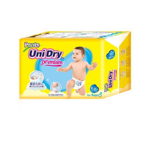 Unidry優力褲褲型紙尿褲-男生款XL22片X8包(箱購)★衛立兒生活館★