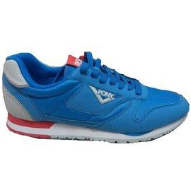 【陽光樂活】特價出清!!! PONY 男款 休閒運動鞋 天空藍//紅 雙鞋帶 51M1RR64RB