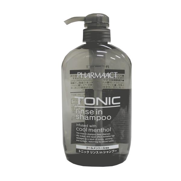 熊野油脂酷涼Tonic雙效洗髮精